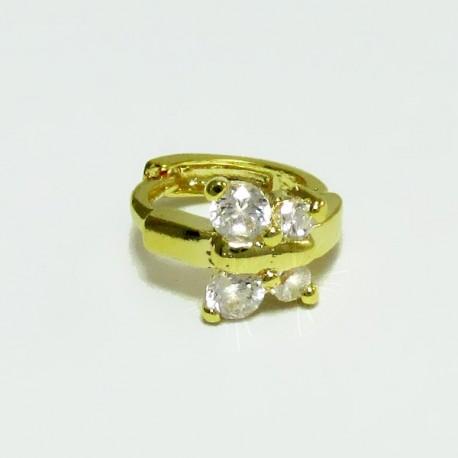 Piercing de Orelha - Argolinha Borboleta - 6ORE312
