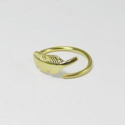 Piercing de Orelha - Argolinha Dourada - 6ORE320