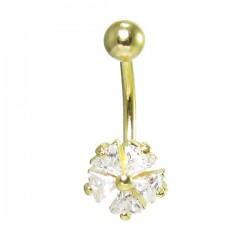 Piercing para Umbigo - Dourado – 1DOU136