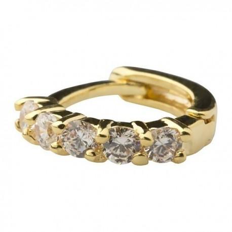 Piercing de Orelha - Banhado a Ouro - 6ORE134