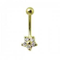 Piercing Íntimo Genital Banhado a Ouro - Christina - 18INT03