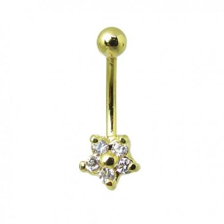 Piercing Rook / Íntimo Genital Banhado a Ouro - Christina - 18INT03