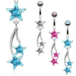 Piercing de Umbigo - Estrela - 1EST64