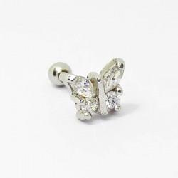 Piercing de Orelha - Borboleta - 6ORE442