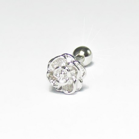 Piercing de Orelha - Rosa - 6ORE447