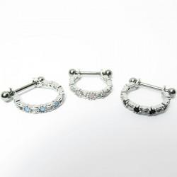 Piercing de Orelha Conch Titânio - 6ORE459
