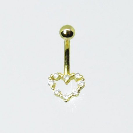 Piercing Rook / Íntimo Dourado Genital - Christina - 18INT11