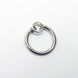 Piercing de Orelha - Falso Captive Segmento Click Flat - 6ORE480