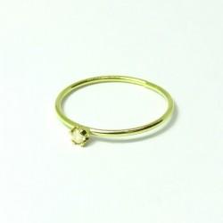 Piercings de Nariz - Ouro Amarelo 18k com Zircônia - 2NOU21