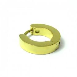 Piercing Argolinha em Aço Dourado - 6ORE495