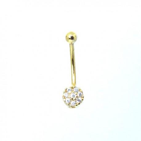 Piercing Rook / Íntimo Dourado Genital - Christina - 18INT13