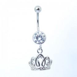 Piercing de Umbigo - Coroa Princesa - 1DIV144