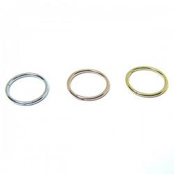 Piercings de Nariz - Argolinha Clicker em Aço Cirúrgico - 2NAA62