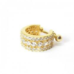Piercing de Orelha Dourado Conch Luxo - 6ORE524