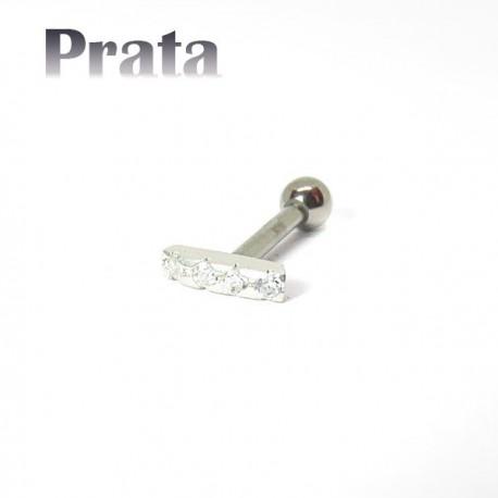 Piercing para Orelha - Barrinha - 6ORE545