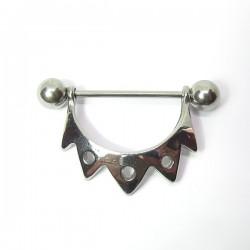 Piercing para Mamilo - Ornamentado - 14MAM09