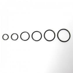Piercing Argola 1.0mm Segmento Articulado em Titânio PVD BLACK - 6ORE591