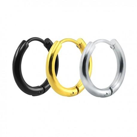 Piercing ou Brinco - Argolinha em Aço - 6ORE595