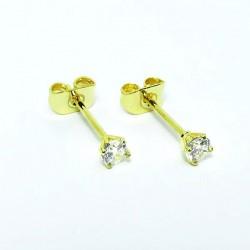 Brinco em Aço Cirúrgico - PVD Gold - 16OUT02
