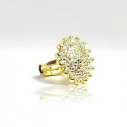 Piercing de Orelha Click Noiva - Banhado a Ouro - 6ORE645