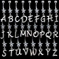 Piercings de Umbigo - Alfabeto - 1ALF02