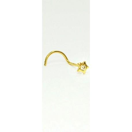 Piercings de Nariz - Ouro 18k - 2NOU02