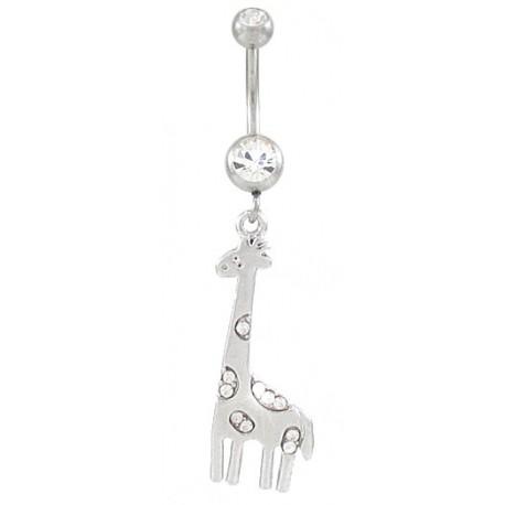 Piercing de Umbigo - Girafa – 1ANI59