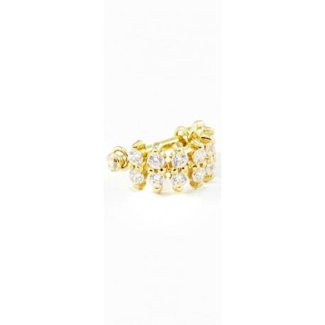 Piercings de Orelha Sandy OURO 18K - 6ORE209