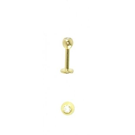 Outros Piercings - Queixo - Labret - 10QUE07
