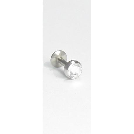 Outros Piercings - Queixo - Labret - 10QUE09