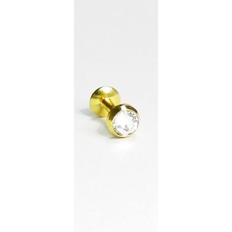 Outros Piercings - Queixo - Labret - 10QUE10