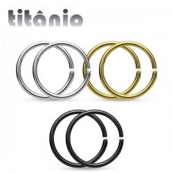 Piercing de Nariz - Titânio - 2NAA59
